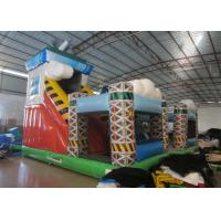Colorful spaceship inflatable fun city / inflatable amusement park for sale