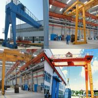 MGB semi gantry crane 5 ~ 50 tons double girder gantry crane single-girder gantry crane