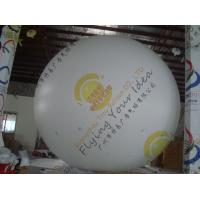 Best Large Helium Inflatable Advertising Balloons Fireproof 0.28mm Blank White PVC wholesale