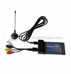 PCMCIA TV CARD / FM TV Sticker / TV-Box PCMICIA Card Adapter Full channel