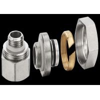 Best Zinc Plating Brass Threaded Fittings For Stainless Steel Water Manifold wholesale