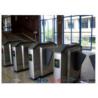 Best Facial Reader Access Control Flap Barrier Gate Stainless Steel For Entrance wholesale