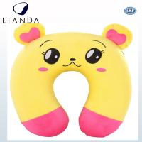 Cheap Durable Travel Neck Support Travel Pillow For Airplane , Animal Printing Customized for sale