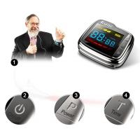 Cheap Low Level Laser Therapy Watch Laser Physiotherapy Equipment For High Blood Fat for sale