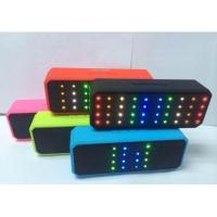 China X60 Speaker Wireless Bluetooth speaker with LED light TF card mini music Subwoofers on sale