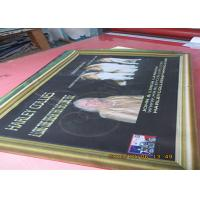 Best Digital Four Colormesh Vinyl Banner , Double Sided Mesh Banner With Copper Grommet wholesale