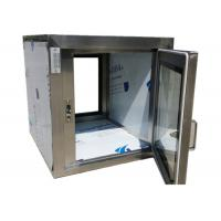 Cheap Pharmaceutical Clean Room Pass Box Through 110V / 60HZ , Softwall Cleanrooms for sale