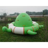 Quality Durable PVC Turtle Shaped Inflatable Water Floats With Air Pump / Repair Kits wholesale