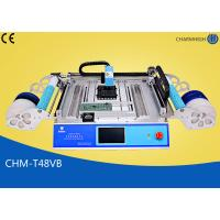 Quality Chmt48vb Table Top Pick And Place Smt Machine With 58pcs Feeders wholesale