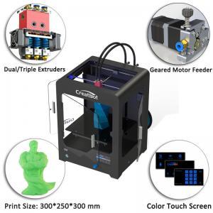 Best Plastic Creatbot DX 3d Printer , Large Format 3d Printer 0.05 Mm Max Resolution wholesale