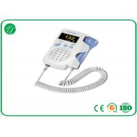 Best Baby Sound Handheld Fetal Doppler , Baby Heart Doppler For Routine Examination wholesale