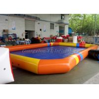Details Of Inflatable Theme Park Colorful Water Ball Pool Notching Above Ground Blow Up