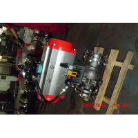 Best Automatic Water Shut Off Valve , Pneumatic Piston Metal Seated Stainless Ball Valve wholesale