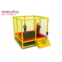 Best Toddler Trampoline Park Equipment 7 Feet With Safety Net Enhance Motor Skills wholesale