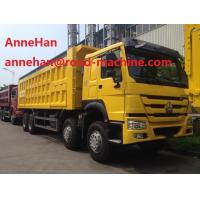 Cheap 50 tons SINOTRUK tipper trucks 8x4 Heavy Duty Dump Truck SWZ Chassis customizable color for sale