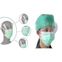 Best Non-woven Disposable  Face Mask with plasitic eye shield,added protection for eyeswith clear plastic wholesale