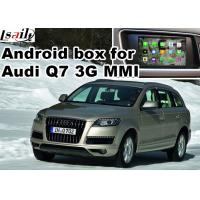 Best Android car navigation box for Audi Q7 multimedia video interface wholesale
