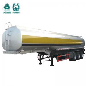 Best OEM Aluminum Fuel Tanks For Semi Trucks , Tri Axle Semi Trailer 45000 Liters wholesale