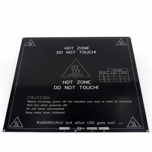 Best 214*214* 3mm 24V 3D Printer Heatbed Aluminum Substrate Hot Plate wholesale
