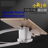 Best COMER mobile phone shops display charging and alarm sensor tablet computer magnetic stand with charging cable wholesale