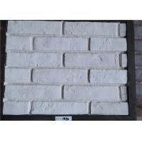 Best White Faux Exterior Brick Decoration Thickness 10-15mm Solid Surface wholesale