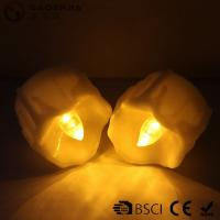 Best Yellow Flickering Timing Flameless LED Tea Light Candles with Timer wholesale