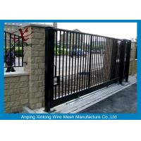 Best Wrought Iron Automatic Security Gates Commercial For Living Quarter XLF-03 wholesale