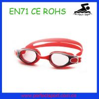 Best Excellent performance silicone anti fog swim goggles wholesale