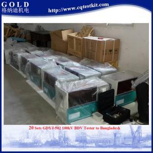 Best ASTM D1816 D877 Transformer Insulation Oil Dielectric Strength Tester wholesale