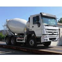 Best Euro 2 Sinotruk Howo 6x4 Mixer Truck With Tank Body 8 Cubic Meters wholesale
