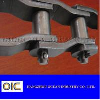China Heavy-Duty Cranked-Link Transmission Chains , type 2010 , 2510 , 2512 , 2814 , 3214 , 3315 , 3618 , 4020 on sale