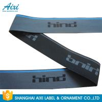 Best Polyester / nylon spandex Colored Garment Woven Tape With Logo wholesale