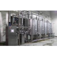 Quality Stainless Steel Juice / Beer / Soft Drink Filling Machine 3 In 1 2000BPH -18000BPH wholesale