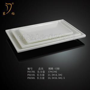 Best Melamine oval plate/100% plastic plate melamine christmas long plate wholesale