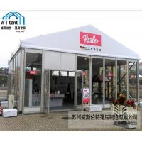 China Clear Roof Exhibition Canopy Tent , 10x10 Trade Show Tent Marquee PVC Cover on sale