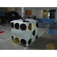 Best White Fireproof Cube Helium Filled Balloons For Outdoor Advertisement wholesale