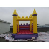 Best Classic Tarpaulin Inflatable Jumping Castle , Blow Up Bouncy Castle Leak Proof wholesale