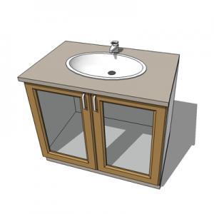 Best basin with cabinet sink bowl bathroom ceramic 1000mm antique vanities wholesale