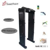 Best Adjustable High Sensitivity Full Body Scanner / Security Metal Detector Gate ROHS / FCC For School wholesale