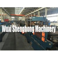 Quality 15KW Steel Purplin Cold Roll Forming Machine PLC Controlling System wholesale