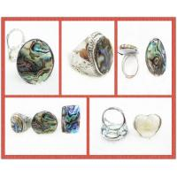 Best Colorful Natural Handmade Shell Jewelry Seashell Rings 20 - 30 Inches wholesale
