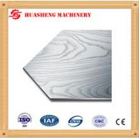 China 304 410 Stainless Steel Press Plates With Cloth Texture For Melamine Furniture Board on sale