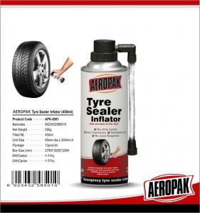Best Puncture Preventative Emergency Tyre Repair , 500ml Tire Inflator Sealer wholesale