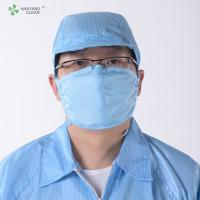 Best Anti-static ESD Cleanroom 3 PLY Surgical Activated Charcoal Face Mask wholesale