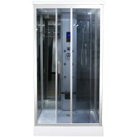 Best Claasic Steam Shower Whirlpool Bath Combination , Square Bathtub Steam Shower Combo wholesale