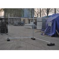 Buy cheap Construction Removable Temporary Fencing , Temporary Chain Link Fence Panels from wholesalers