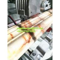 Best Plastic PVC marble door lines extruder machine hot stamping machine wholesale