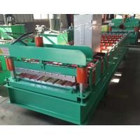 Best 910 Type Wall Sheet Roll Forming Machine 380v 50hz 3 Phase 7-12m/Min Working Speed wholesale