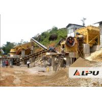 China Customized Rock Crushing Equipment , Complete Stone Crushing And Screening Plant on sale