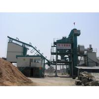 Quality Side Type 60T Finished Product Bin All Asphalt Mixing Plant With 16 Ton Asphalt Storage Tank wholesale